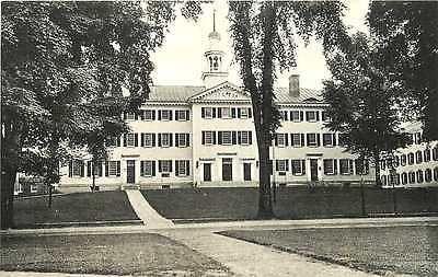 Hanover New Hampshire 1920s Dartmouth College Dartmouth Hall Vintage Postcard…