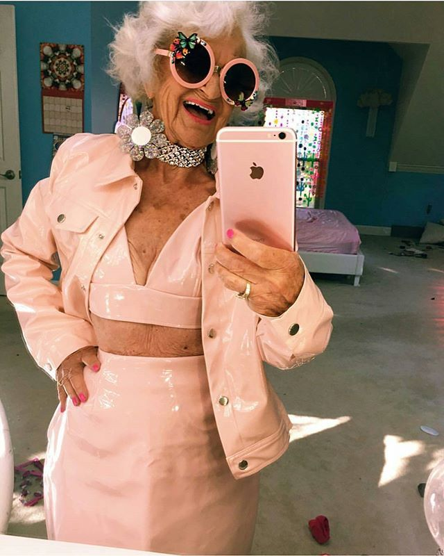 When your grandma is a lot cooler than you 😜 📷 credit: baddiewinkle Tag someone who will love this . . . . #ootd #cardigan #autumn #goals #amazing #happiness #vibes #happy #onpoint #clothing #stylish #viral #promotion #popular #inspiration #web #beautiful #amazing #instagram #beauty #cool #besties #cool #yay #selfie #travel #cute #love #wow #ig #style #trendyontime