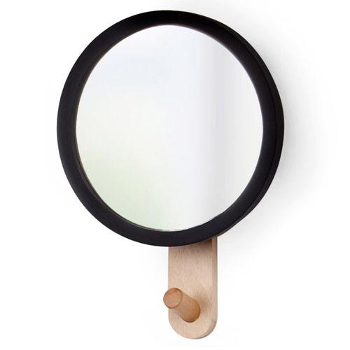 Зеркало с вешалкой Hub, Umbra (арт. 318410-045) купить по цене 1,490.00 руб. - Astia.ru