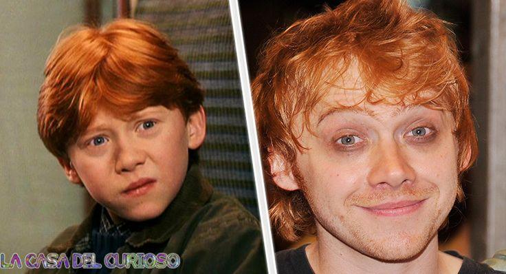 Así ha cambiado el elenco de Harry Potter desde el estreno de la primera película al día de hoy