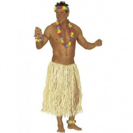 Falda Hawaiana de Rafia. Perfecta para fiestas hawaianas o caribeñas, disponible en talla única. http://mercadisfraces.es/de-hawaianos/falda-hawaiana-de-rafia-.html?search_query=Hawaianos&results=63 Envíos 24 horas