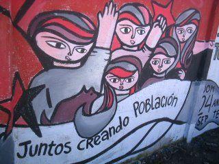Unidades Muralistas Luchador Ernesto Miranda - UMLEM Chile: September 2006