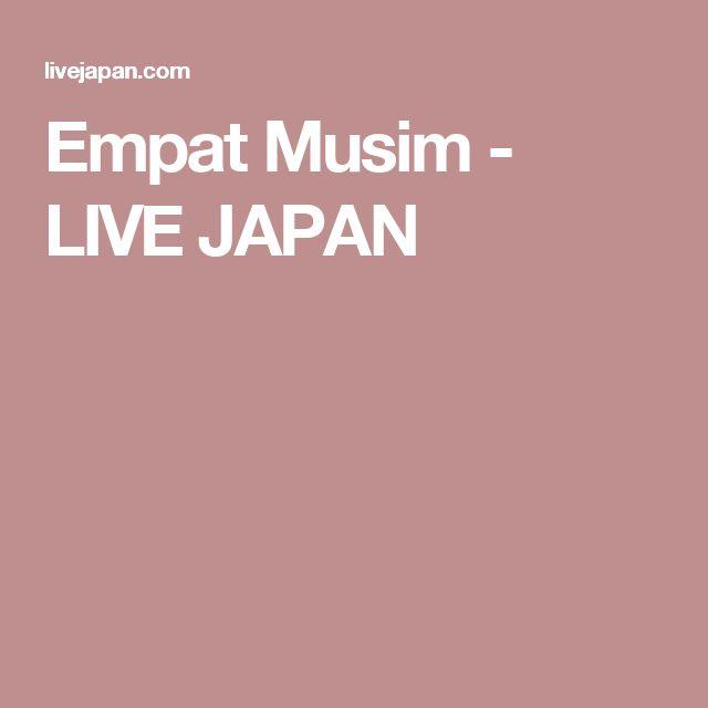 Empat Musim - LIVE JAPAN