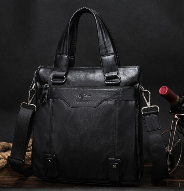 Men bag 2016 famous brands high quality men messenger bags leather briefcases men laptop bag vintage fashion office bags for men