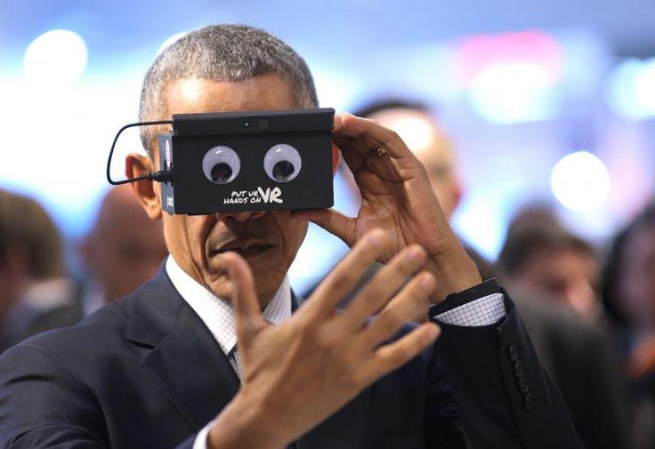 Hannover Messe: Merkel und Obama tauchen ein in die virtuelle Welt | Foto: dpa