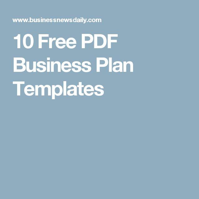 basic business plan template