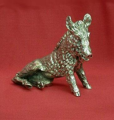 Boar in Silver - Dogale Jewellery Venice Italia www.veneziagioielli.com