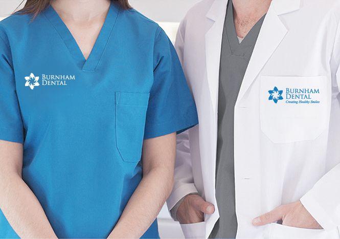 Burnham Dental Clinic branded staff uniforms by New Design Group