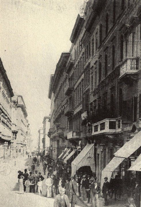 via del corso 1900