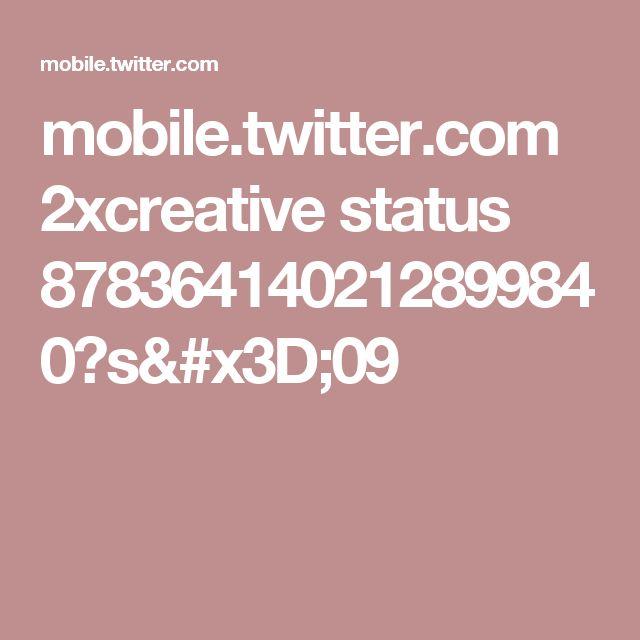 mobile.twitter.com 2xcreative status 878364140212899840?s=09