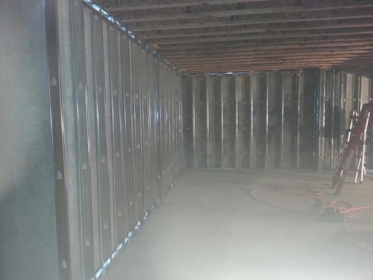 Framework For Finished Basement