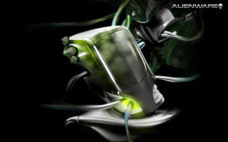Alienware Wallpapers: Alienware Green PC Desktop ~ celwall.com Technology Wallpapers Inspiration