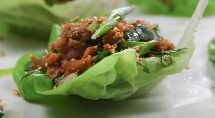 Pork Laab (Ground Pork salad)