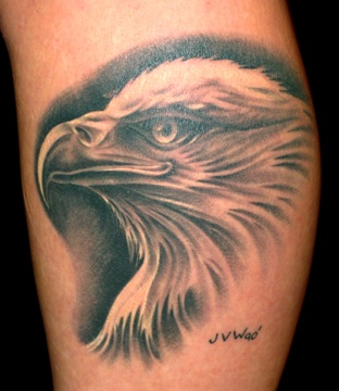 screaming eagle head tattoo designs images galleries with a bite. Black Bedroom Furniture Sets. Home Design Ideas