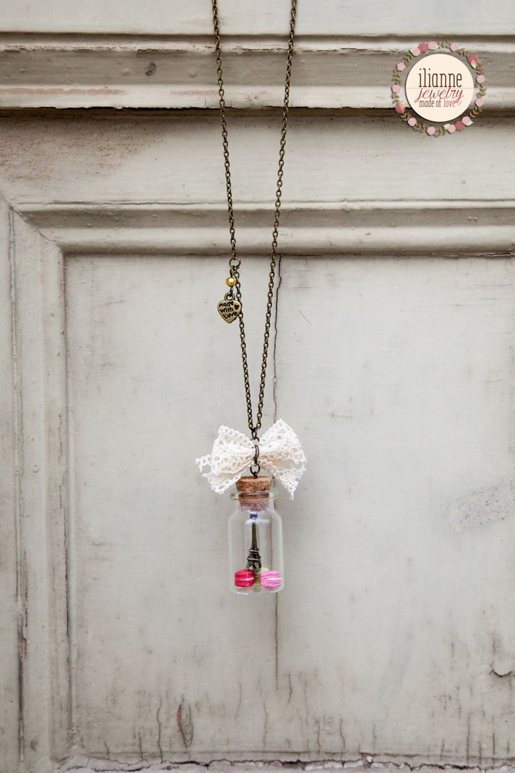 Ilianne | Jewelry Made of Love - Paris in a Bottle