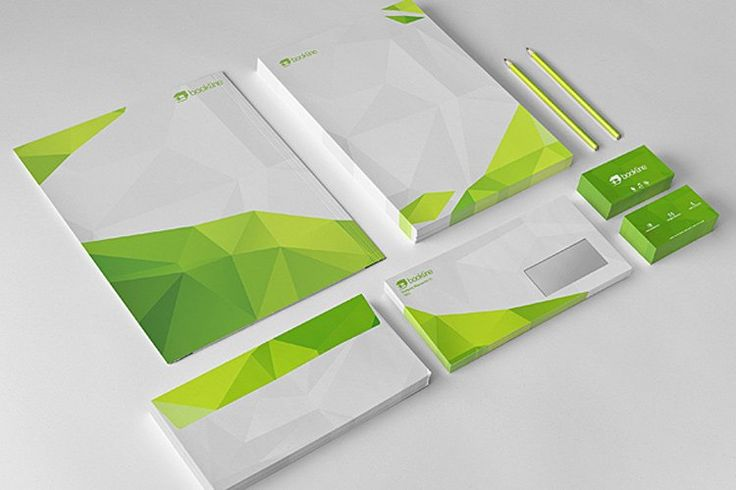 Professional examples of stationery design - stocklogos