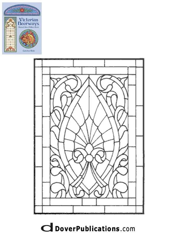 ★ Stained Glass Patterns for FREE ★ glass pattern 778 ★