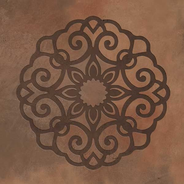Ornamental Lace Medallion Stencil Set
