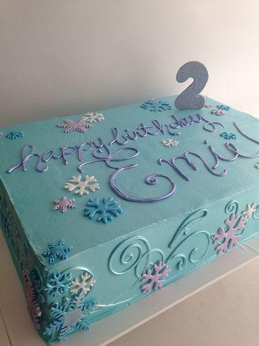 cakes frozen theme frozen party frozen birthday cake birthday cakes ...
