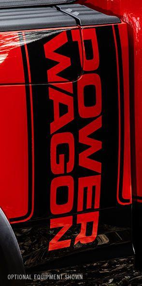 2017 Ram Power Wagon stripe