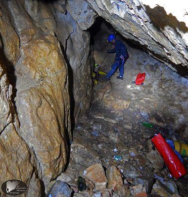A cave at Kalifitos, Drama, Greece