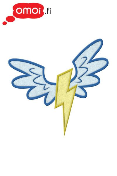 My Little Pony My Little Pony Wonder Bolts patch - 5,50EUR : Manga Shop for Europe, A great selection of anime products