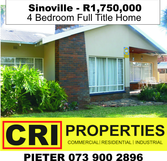 http://www.criproperties.co.za/properties/one/Sale/property/5021890 Turnkey property: 4 Bedrooms, study, 3 bathrooms, BIG Lapa and swimming pool. Entertainers dream! Very Central!