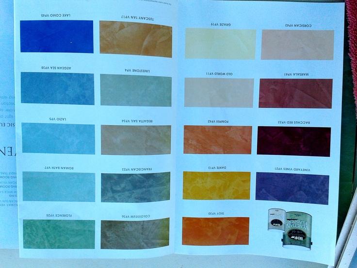 Plaster Paint Colors : Venetian plaster colors by behr