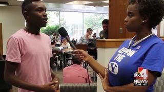 PROVO (ABC4 Utah News) - African Americans make up less than one percent of the student population at Brigham Young University and a now black student has made a video about the experiences of black students at BYU. The video is posted on YouTube at https://www.youtube.com/watch?v=Wyx9kpDThh4Johnisha Demease-Williams grew up in Houston, Texas and calls her year and a half at BYU culture shock.I didn't know what I was getting into when I first got here, Demease-Williams...