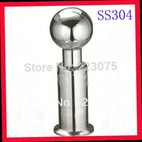 """43.00$  Watch here - http://ali32o.worldwells.pw/go.php?t=1347867897 - """"Free shipping 2.0"""""""" SS304 stainless steel Spray ball, sanitary rolling cleaning ball  Tank cleaning equipment"""""""