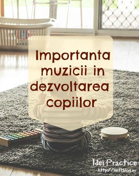 Importanta muzicii in dezvoltarea copiilor