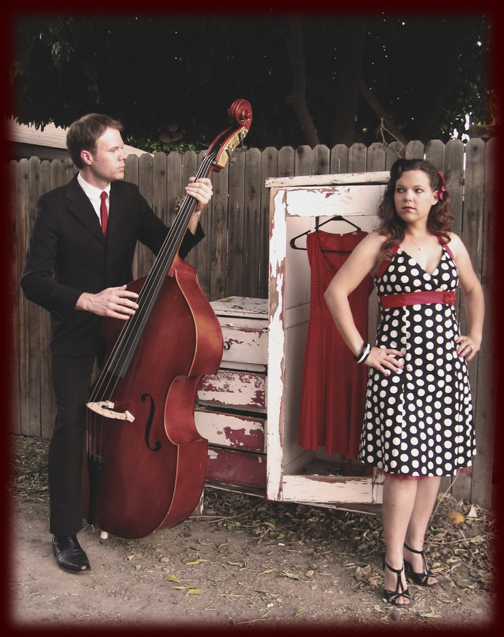 Whiskey Kiss is a rockabilly band from Phoenix, Arizona. They are influenced by Elvis, and that is obvious. The lead singer and the bass player are to be married, and they produce a great, groovy sound.