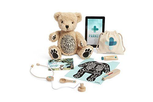 Your Augmented Reality Bear for Toddlers Ages 3-6, Learning Kit, Seedling Parker #Seedling