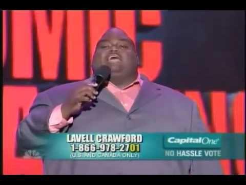 Lavell Crawford - Job at Happy Burger