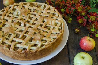 Интуитивная кухня: Пирог с яблоками и творогом