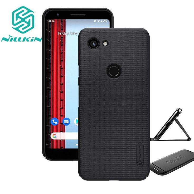 for Google Pixel 3a XL (2019) Case,Nillkin Slim Thin Shield Anti Fingerprints Hard Matte PC Case Back Cover with Kickstand for Google Pixel 3a XL(Black) >>> Find out more about the great product at the image link. (This is an affiliate link)