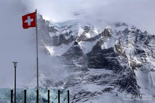 Alpy w Szwajcarii #Szwajcaria, #Alpy, #góry, #szczyty, #śnieg  -  Dorka z – Google+