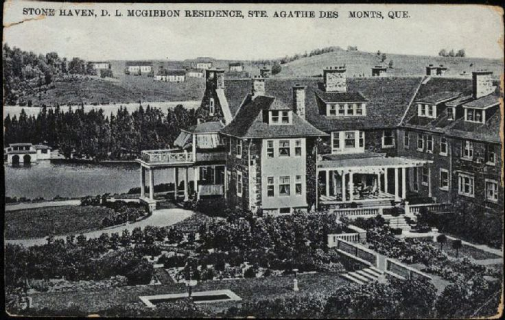 Image result for historic saint agathe des monts, quebec