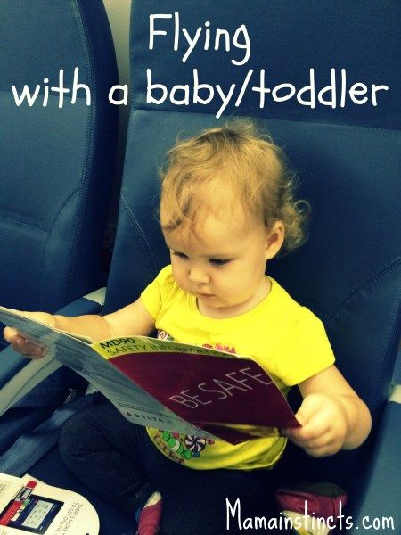 Flying with a baby toddler #travel #traveling #travelingwithkids
