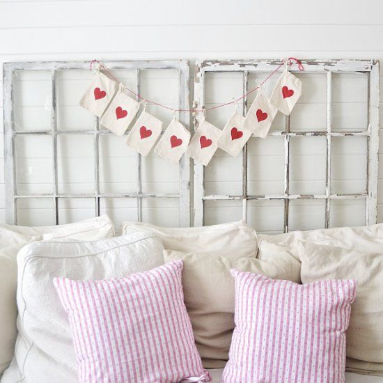 See how to make this super simple heart garland for any time of the year! aww, thanks so xox
