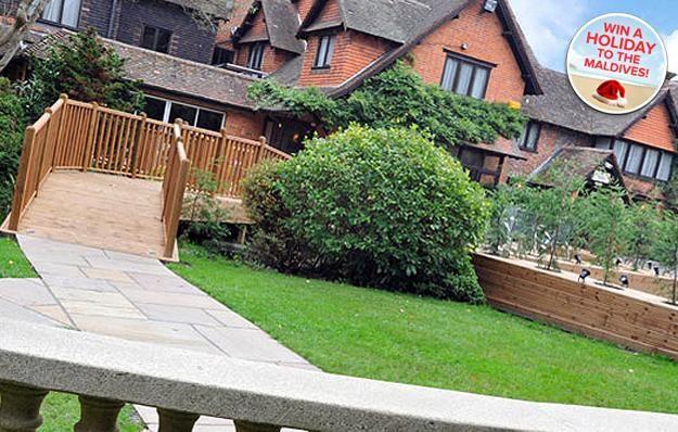1nt Yateley stay with Marco Pierre White three-course dinner