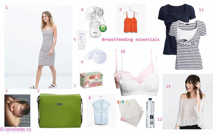 My breastfeeding essentials