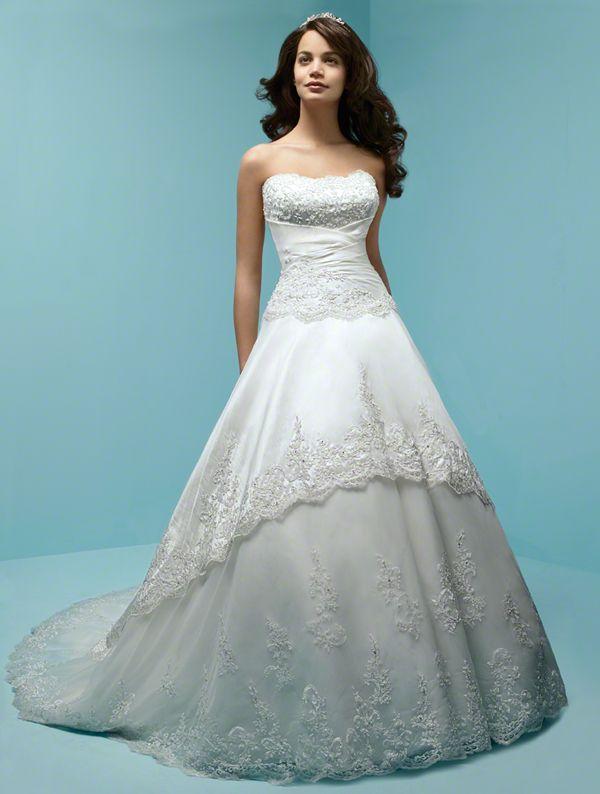 48 best Wedding Ideas - The Dresses images on Pinterest | Wedding ...