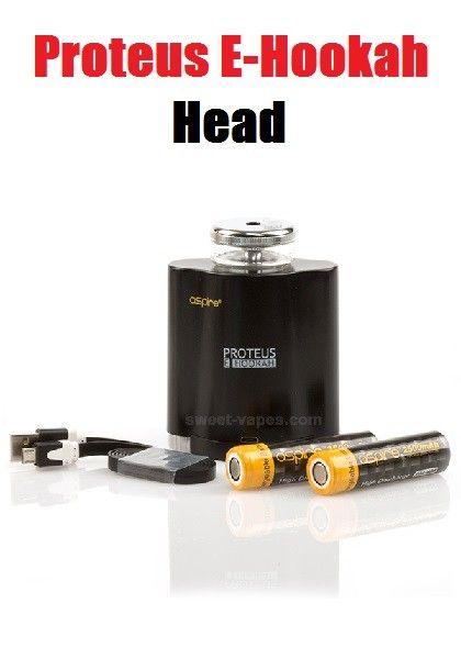 Proteus E-Hookah head
