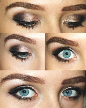Products used: Sephora Eyebrows Shadows NAKED2 Palette by Urban Decay Sephora Eyeliner Kiko Highlighter Kiko Mascara  Perfect for the night/parties