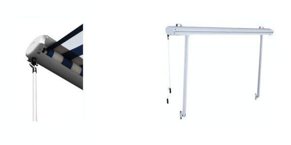Store DE Fenêtre Demi Coffre Terrasse Banne Protection Solaire Couleurs Tailles | eBay