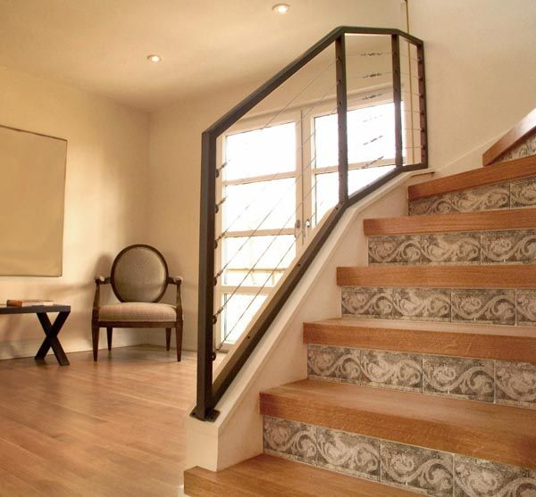 58 Cool Ideas For Decorating Stair Risers: 34 Best Images About Stairs On Pinterest