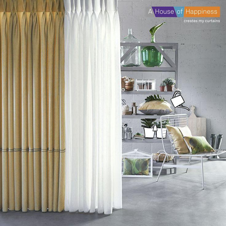 THE INDOOR GARDEN   #gordijnen #curtains #Gardinen #Vorhänge