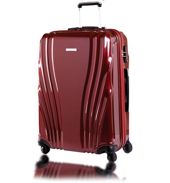 Vous partez bientôt en vacance, vous avez besoin de bagages solide, et légers pour voyager pratique ?   Arrêtez-vous, vous êtes au bon endroit!  Set de 3 Valises Trolley 4 Roues, en polycarbonate, en Gris, Marine, et Carmin, Cadenas à code intégré.
