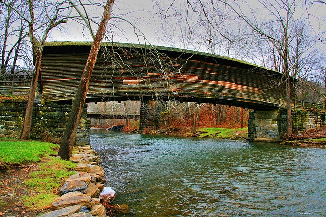 Humpback Covered Bridge, Covington, Virginia